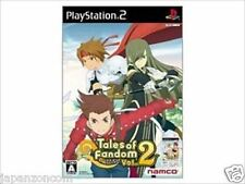 Used PS2 Namco Tales of Fandom Vol. 2 Tia  SONY PLAYSTATION JAPAN IMPORT