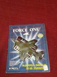 ERTL air Force One Marine mcdonnell Douglas AV8B Harrier II fighter gift DieCast