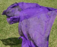 PURPLE GOTH GOTHIC TRIBAL BELLYDANCE BELLY DANCE DANCING VEIL SCARF SARONG WRAP