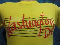 vintage 80s WASHINGTON D.C. T-Shirt XS tourist surf skate super soft thin comfy