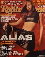 JENNIFER GARNER 2/02 ROLLING STONE Mag GUNS N' ROSES