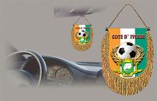 IVORY COAST  SOCCER FLAG CAR MINI BANNER, PENNANT