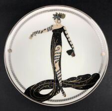 House of Erte La Merveilleuse Plate Numbered Edition w/Coa Franklin Mint