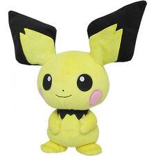 "Genuine Sanei Pokemon Go All Star Collection - PP25 - Pichu 8"" Plush Doll"