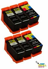 6PK Series 24 Ink Cartridges for Dell P713w V715w 330-5285 330-5882 768N X771N
