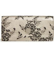NWT JIMMY CHOO Floral Lace & Leather Shoulder Bag Clutch