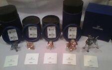 Swarovski Disney's Lady and the Tramp 6 Piece Set - All MIB / Never Displayed