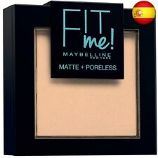 Maybelline New York Fit Me - Polvos Compactos Matificantes y Sin 115 (115 Ivory)
