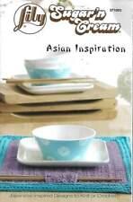 KNIT OR CROCHET ASIAN INSPIRATION SUSHI SET/BATHMAT/MORE!!!