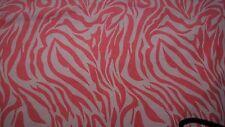 DUVET Comforter Quilt Cover QUEEN Size Bright Pink & White Swirls