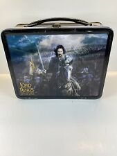 Neca Lord Of The Rings The Return Of The King Lunch Box w/Thermos