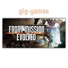 Front Mission Evolved PC spiel Steam Download Digital Link DE/EU/USA Key Code