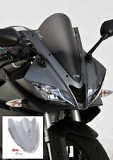 Pare Brise Bulle Saute Vent ERMAX  Aeromax TO  Yamaha YZF R 125 15/18 Gris