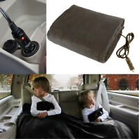 148x105cm 12V 45W Portable Car Electric Heating Blanket Warm Polyester Fleece
