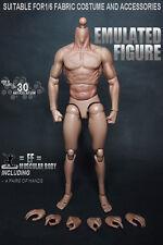 Neu 1/6 Action Figur Mann Körper Figuren Männlich Body Für Hot toys Head Sculpt