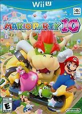 Mario Party 10 (Nintendo Wii U, 2015) No Manual