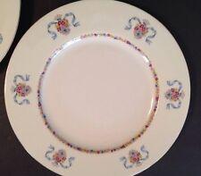 """Haviland New York Made In America ST. REGIS BLUE Gold Trim Dinner Plate 10 3/4"""""""
