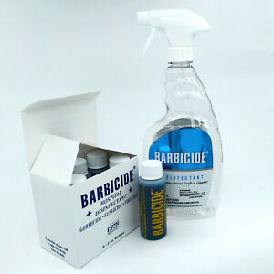 BARBICIDE Disinfectant 6x59ml/2oz Refills + Empty Spray Bottle