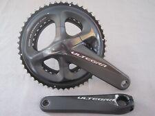 SHIMANO ULTEGRA FC-R8000 Bicicleta de carretera doble pedalier/Manivela 11 velocidades, 170, raza, TOUR