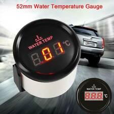 Digital Water Temp Gauges 52mm Water Temp Meters 40-120℃ For Car truck Boat