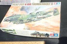TAMIYA 1/48 USAF FAIRCHILD REPUBLIC A-10A THUNDERBOLT II NEW 100% complete