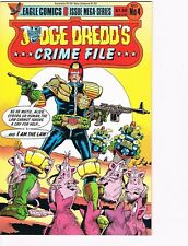 Judge Dredd's Crime Files   # 4   VF/NM 9.0