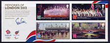 GB 2012 Ricordi di Londra Olimpica e Giochi Paralimpici in miniatura foglio Gomma integra, non linguellato