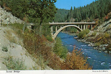 postcard USA  Idaho  Scenic Bridge   unposted
