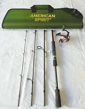 Travel Fishing Spinning Combo Series 7' 4Pc/ 5Bb Reel