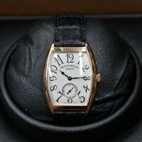 Franck Muller Geneve  7500 S6 MM #2 18k Watch W/box & certificate
