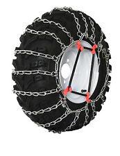 Grizzlar GTU-288 Garden Tractor Snow Tire Chains Ladder 2 link 24x12.00-12