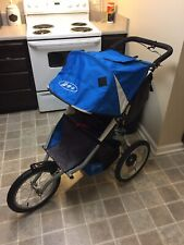 Bob Blaze Performance Jogging Stroller w/ Fixed Front Wheel & Parent Console