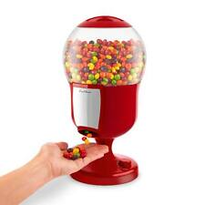 Red Magic Snack Dispenser Candy Sweet Nut Gumball Dispensing Vending Machine