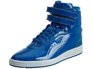 Puma Sky II Hi Patent Emboss Mens Sneakers Shoes 362032 Size 9 US