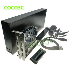 King-Size Laptop Expresscard 34 To 2 PCI slot riser card for Sound graphics card