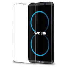 Samsung Galaxy S8 Panzerfolie 3D Curved Glas Schutzglas Gewölbt 9H Transparent