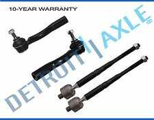 Inner and Outer Tie Rod End Links Kit for 2007 - 2010 2011 2012 Nissan Sentra