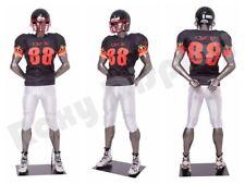 Male Fiberglass Sport Athletic style Mannequin Dress Form Display #Mc-Brady05