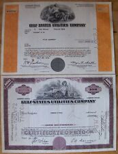 14 different. Stock certificate Gulf States Utilities Comp. 1940's -1970's