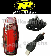 Niterider Sabre 80 USB Recharge LED Bike Tail Light Red Rear Flash Safety 5087