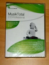 appsmaker - Musik Total 2.0 Professional - PC - Software - Neu / OVP