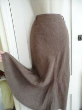 Ladies size 12 George brown mix long winter skirt  partially lined