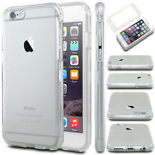 Apple iPhone 6 6S Slim Shockproof 360° Full Body Protective Clear Case Cover