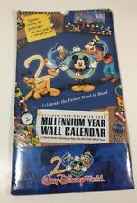 Walt Disney Wall Calendar New Sealed - 2000 Millenium Year
