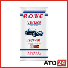Rowe Vintage Motoröl SAE 20W-50 Mild Legiert 5 L