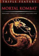 Mortal Kombat Franchise Collection (DVD, 2016, 3-Disc Set) Brand New