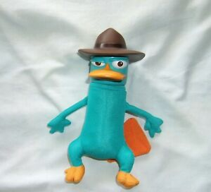 Agent Perry the Platypus plush Jakks Pacific Disney Phineas and Ferb no talk