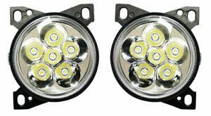 Kenworth T660 Pair Set Right And Left Led Fog Light Lamp # 11558