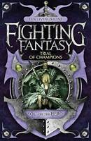 Trial of Champions (Fighting Fantasy) by Ian Livingstone, Paperback Used Book, G