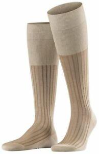 Falke Mens Shadow Knee High Socks - Gravel Beige